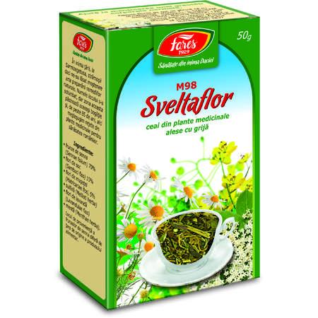 Ceai Fares Sveltaflor, punga  50 grame