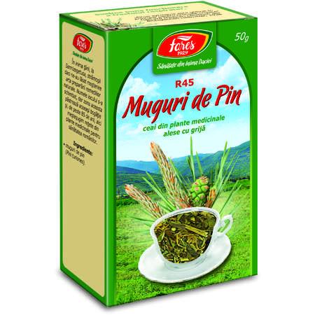 Ceai Fares Muguri de Pin, punga 50 grame