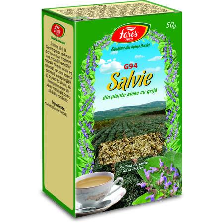 Ceai Fares Salvie, punga 50 grame