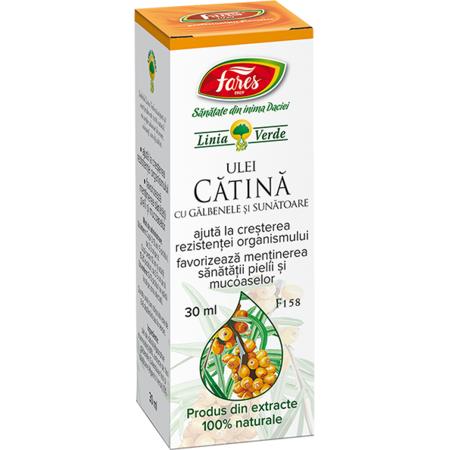 Fares Ulei de Catina cu Galbenele si Sunatoare, 30 ml