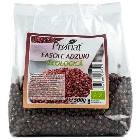 Fasole Adzuki Bio Pronat 500 grame