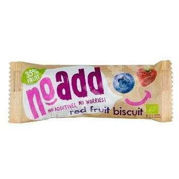 Biscuiti Noadd cu Fructe Rosii Eco 40 grame Belkorn