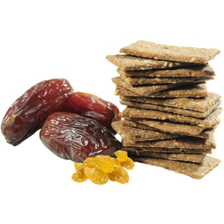Crackersi Keta Crackers cu Stafide si Curmale (dietetici) 1 Kg