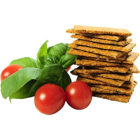 Crackersi Keta Crackers Mediteraneeni cu Rosii si Busuioc 1 Kg