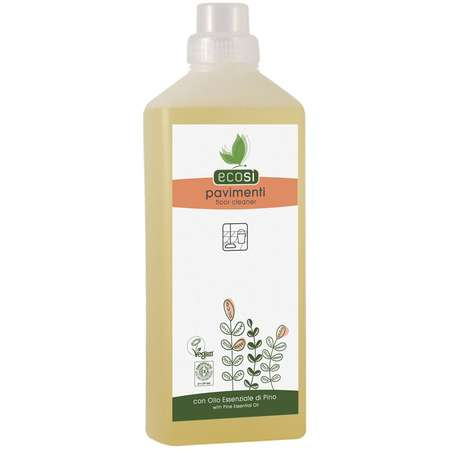 Detergent lichid ECO pentru pardoseli cu ulei de pin Ecosi 1000 ml