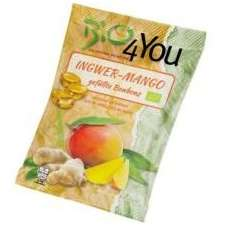 Dropsuri BIO cu ghimbir si mango Bio4You 75 grame
