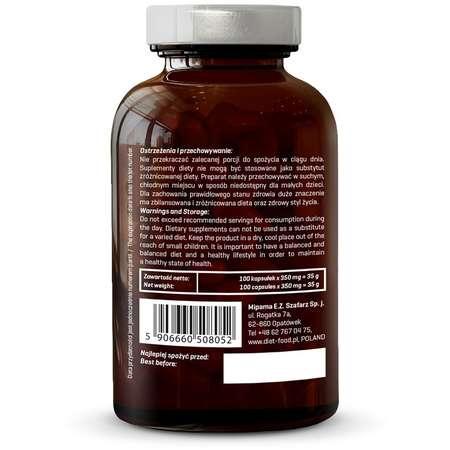 Bio Gotu Kola - 100 Capsule x 350 mg Diet-Food 44,6 grame