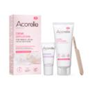 Crema depilatoare naturala pentru fata si zone sensibile Acorelle 75 ml