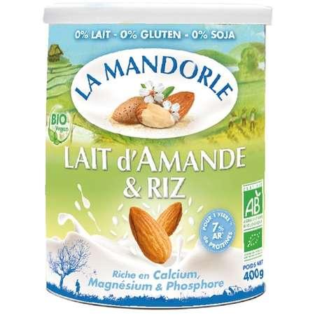 Lapte praf de migdale cu orez La Mandorle 400 grame