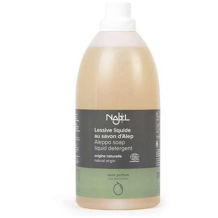 Detergent lichid cu sapun de ALEP fara miros NAJEL 2 litri