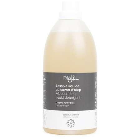 Detergent lichid cu sapun de ALEP NAJEL cu aroma de iasomie 2 litri