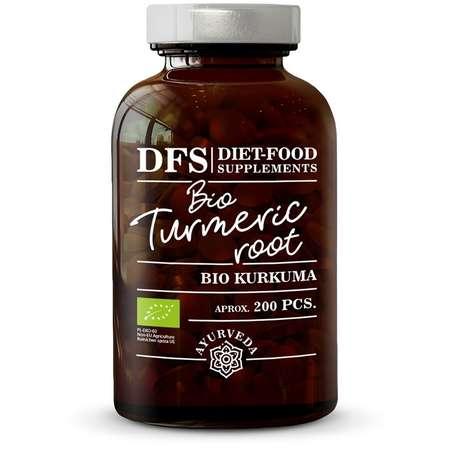 Turmeric Bio Diet-Food 200 capsule x 400mg 80 grame