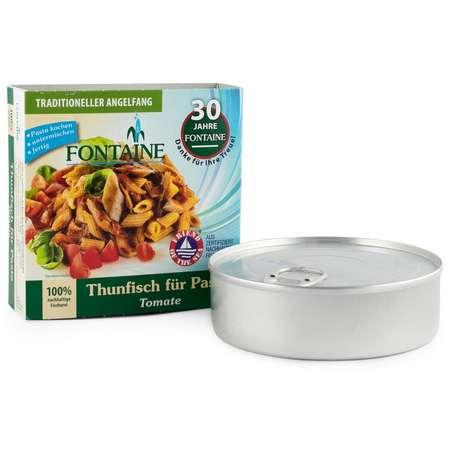 Ton pentru paste cu tomate Fontaine 200 grame