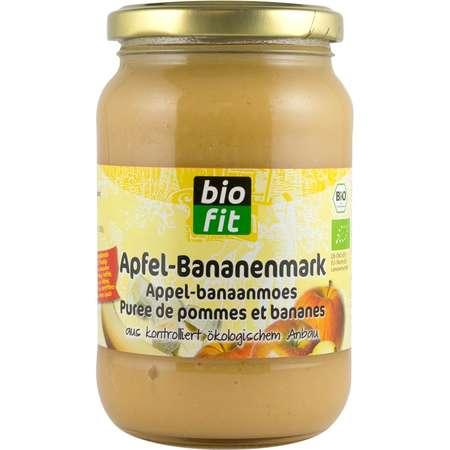 Piure de mere cu banane Bio Fit 360 grame