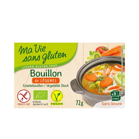 Concentrat supa legume fara gluten Ma vie sans Gluten 72 grame