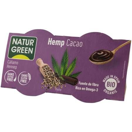 Desert bio cu canepa Natur Green 250 grame