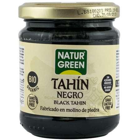 Tahin negru bio Natur Green 180 grame