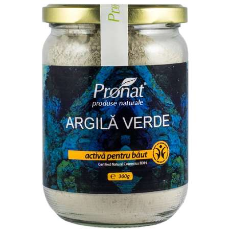 Argila verde activa ventilata pentru baut Argital 300 grame