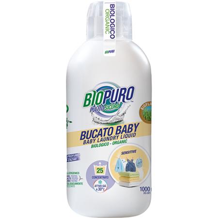 Detergent lichid destinat spalarii rufelor pentru copii Biopuro 1000 ml
