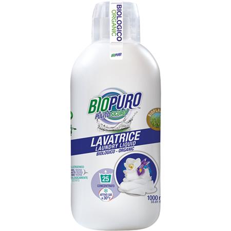 Detergent lichid pentru spalarea rufelor albe Biopuro 1000 ml