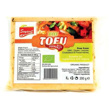 Tofu BIO cu ardei, Soyavit 200 grame