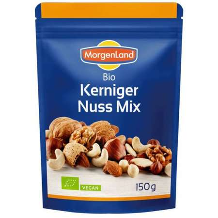 Mix BIO de nuci, alune, migdale si caju MorgenLand 150 grame