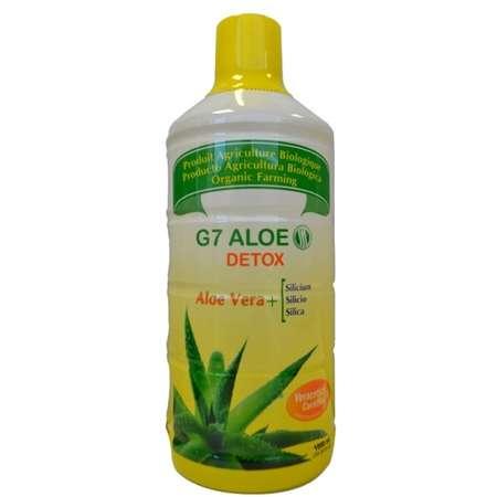 G7 aleo detox Pentru detoxifiere Silicium Espana Lab 1000 ml