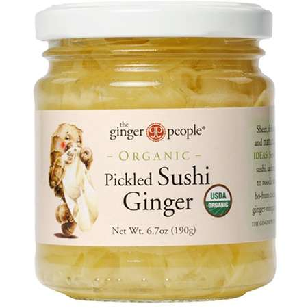 The ginger party Ghimbir pentru sushi The Ginger People 190g/118 grame