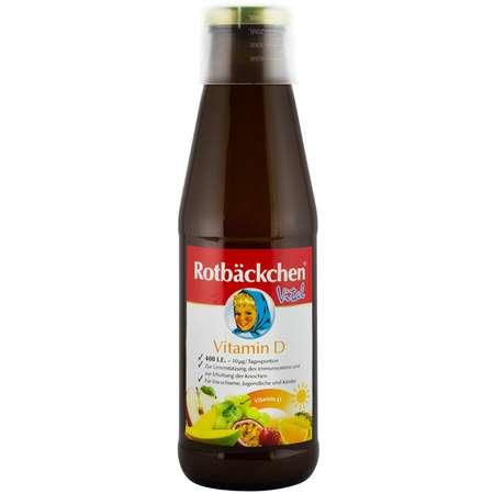 """,,Vitamina D"""" suc pur de fructe Rabenhorst 450 ml"""