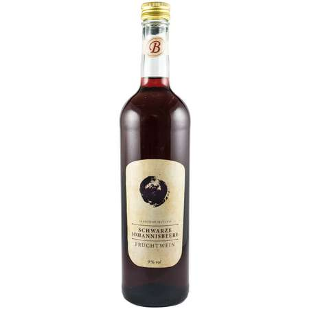 Vin de coacaze negre 9% vol.alcool Bavaria Waldfrucht 750 ml