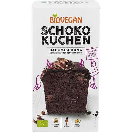 Premix bio pentru prajitura cu ciocolata Biovegan 380 grame