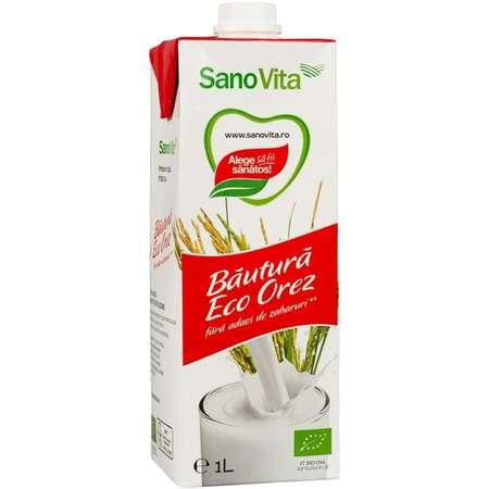 Eco bautura din orez ( fara zahar ) Sanovita 1 Litru