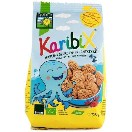 Karibix biscuiti BIO din faina integrala de ovaz, cu fructe Bohlsener M 150 grame