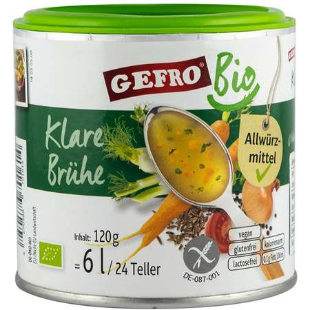 Supa de legume Gefro 120 grame