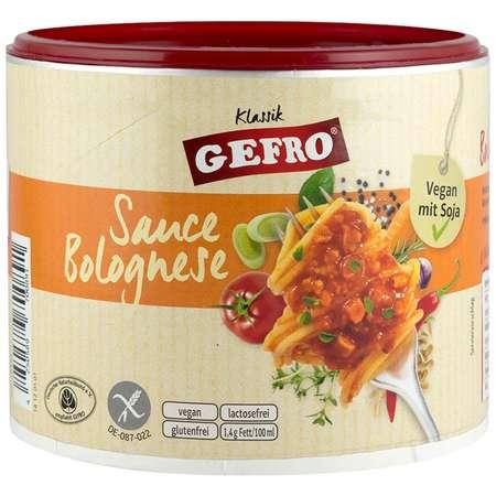 Sos bolognese (vegan cu soia) Gefro 240 grame