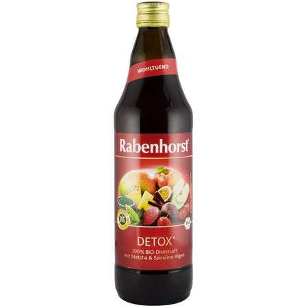 Detox suc bio pur de legume si fructe Rabenhorst 0.75 l