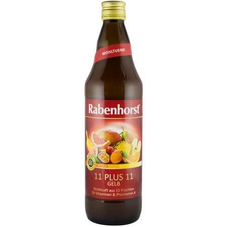 11 plus 11, suc pur multi fruct Rabenhorst 0.75 l