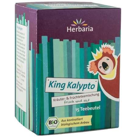 Ceai din plante si fructe king kalypto Herbaria 15x2 grame
