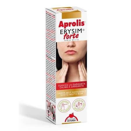 Erysim forte, spray bucal cu propolis Aprolis 20 ml