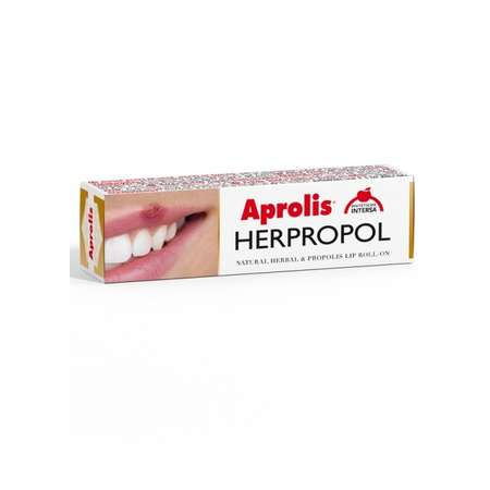 Herpropol Balsam de buze Roll on cu plante si propolis Aprolis 5 ml