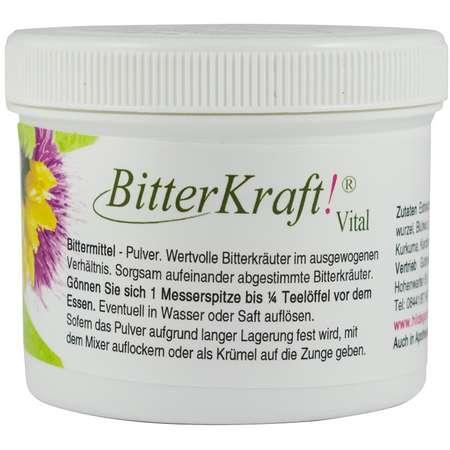 Bitter Kraft Vital, pulbere Bitter Kraft Original 100 grame