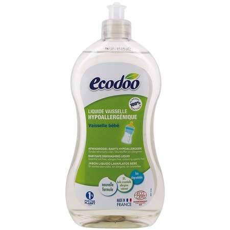 Detergent hipoalergenic Ecodoo biberoane si vesela bebelusi 500ml