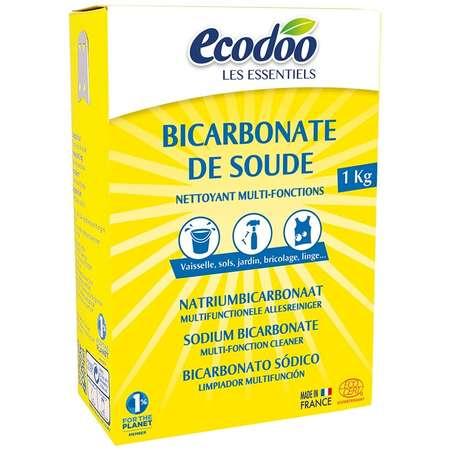 Bicarbonat de sodiu Ecodoo pentru menaj 1kg