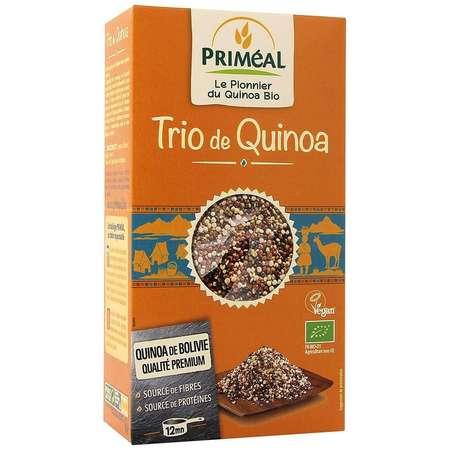 Trio de quinoa PRIMEAL fara gluten 500g