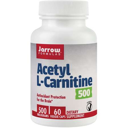 Supliment alimentar Acetyl L-Carnitine Jarrow Formulas 60 capsule vegetale 500mg