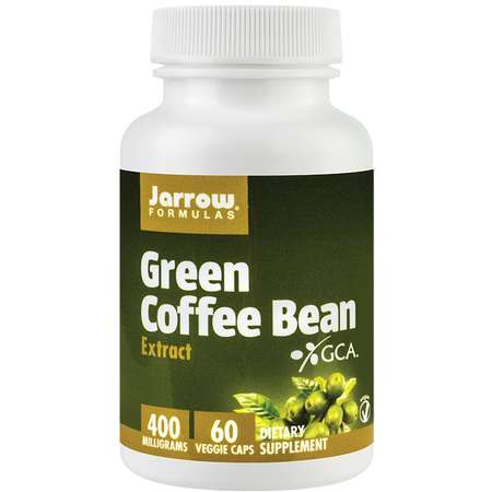 Supliment alimentar Green Coffee Bean Jarrow Formulas 400mg 60 capsule vegetale