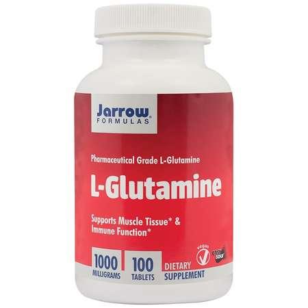 Supliment alimentar L-Glutamine Jarrow Formulas 1000mg 100 tablete Easy-Solv
