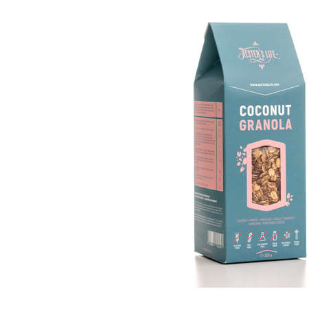 Cereale Hester's Life Granola cu Cocos 320 grame