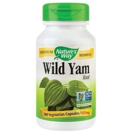 Supliment alimentar Wild Yam Nature's Way 425mg 100 capsule