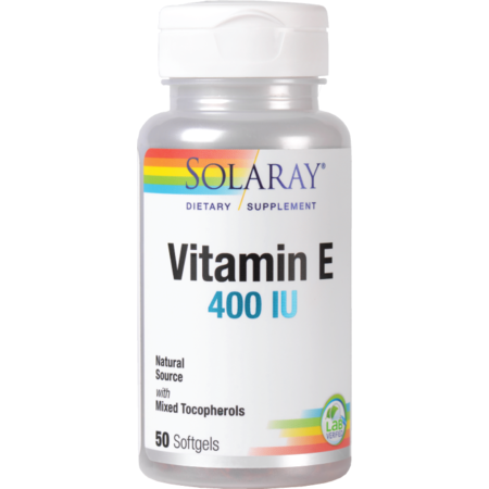 Supliment alimentar Vitamin E 400UI Solaray 50 capsule moi